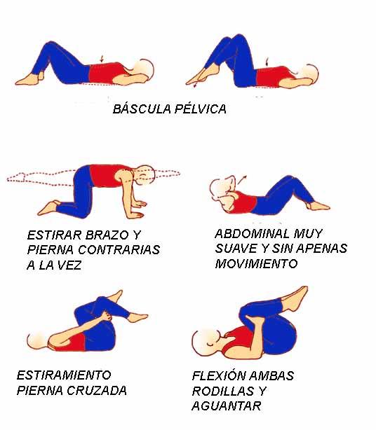 Ejercicios Lumbares Fisioterapia David Higueras Zaidin